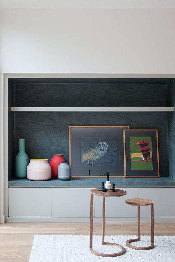 A more editorial take on nesting tables; Image via  urdesignmag.com