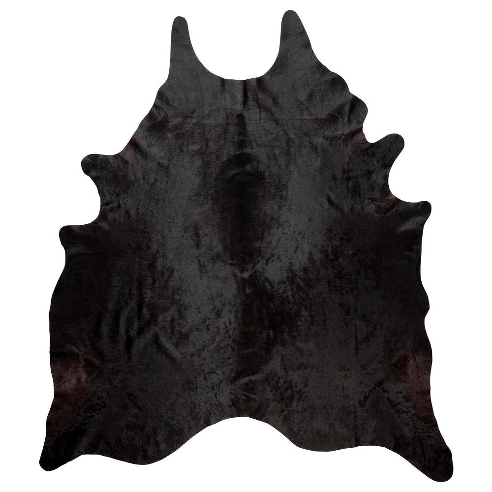koldby rug - Cowhide, black (comes in multiple colors), $169.00