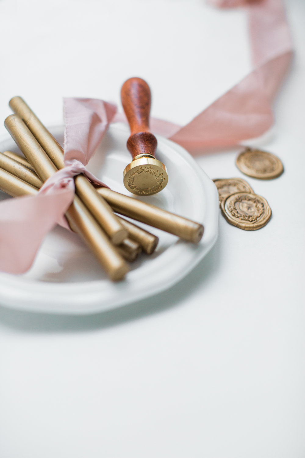 WAX SEALS & RIBBON