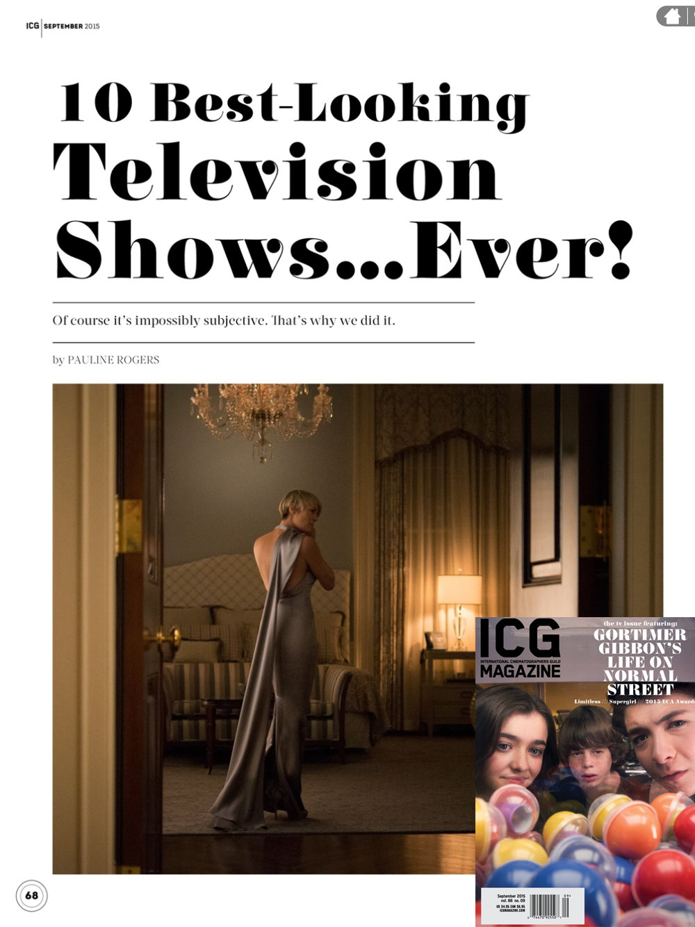 ICG Magazine - September 2015