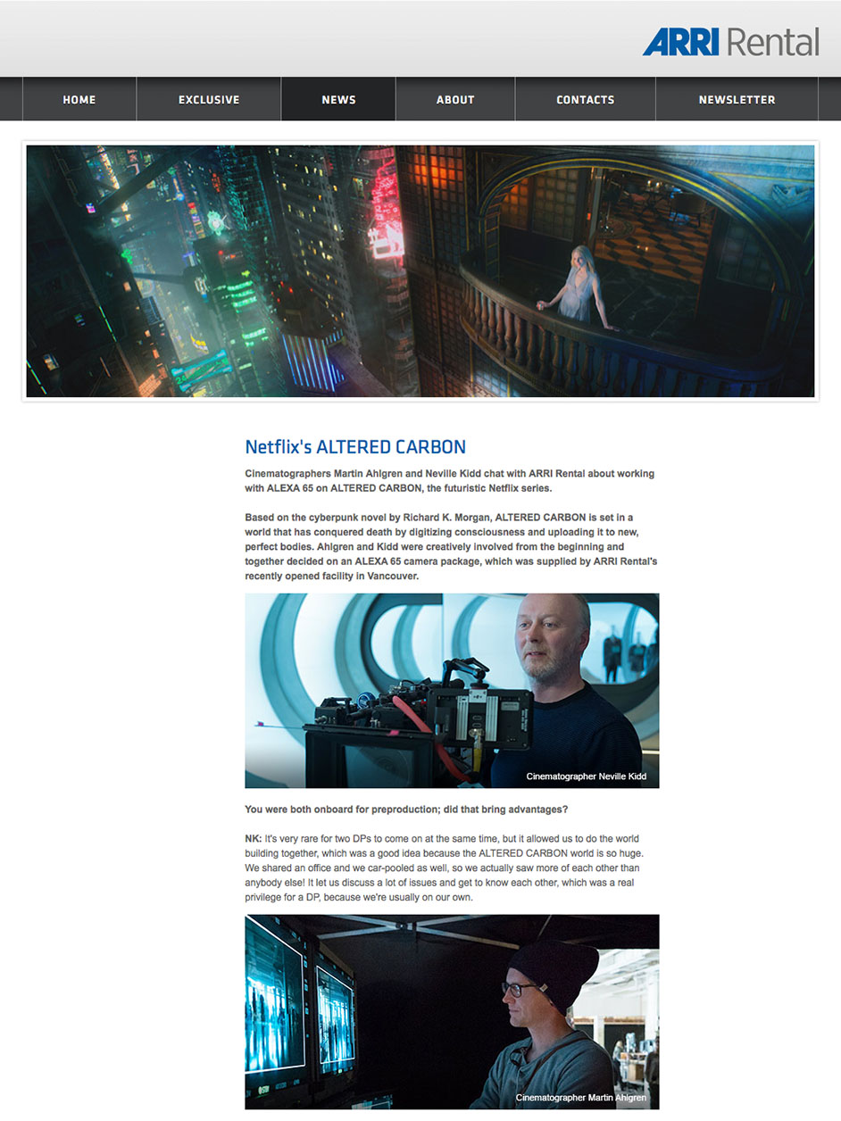 Arri Newsletter - February 2018