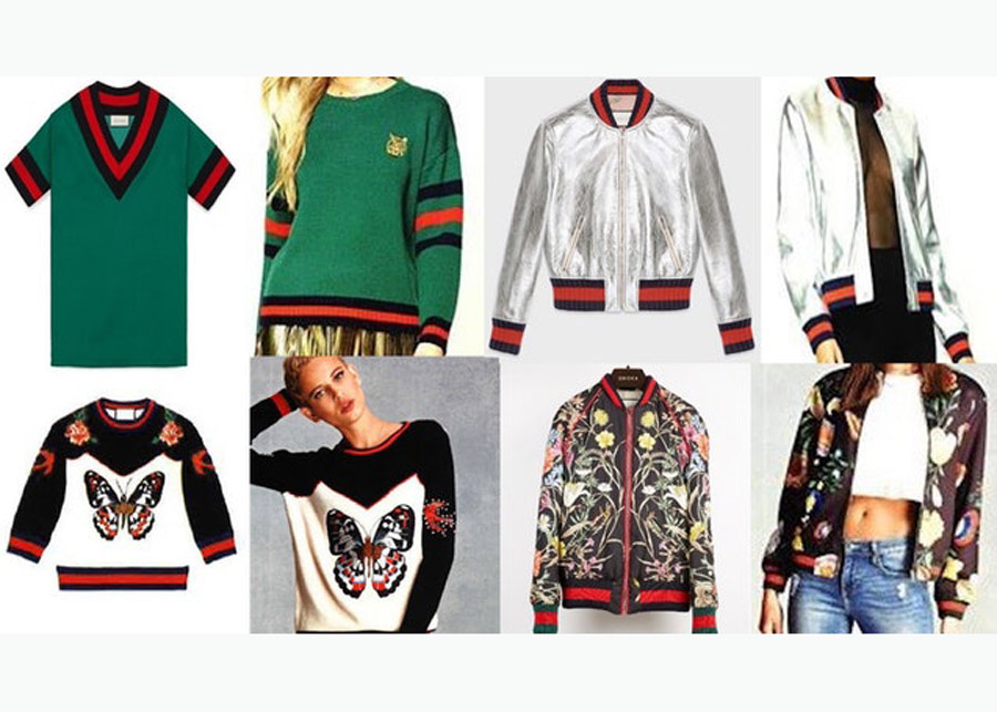 67aa75f50 Spot the difference: Gucci files a lawsuit against Forever 21 for  copywright infringement.