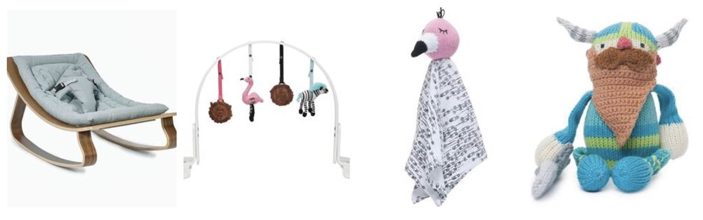 Finn + Emma baby gear and toys