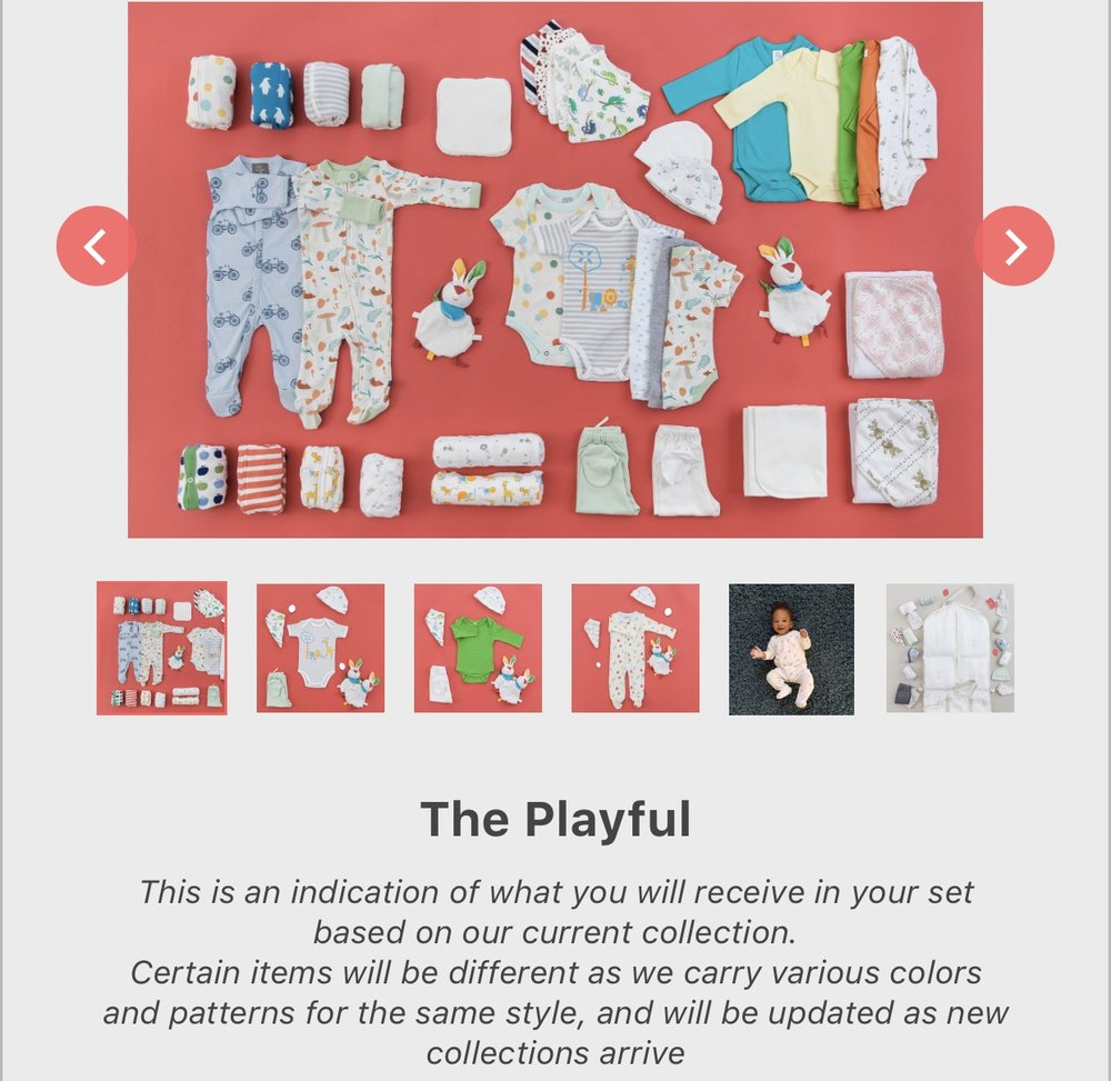 Upchoose color option: The Playful