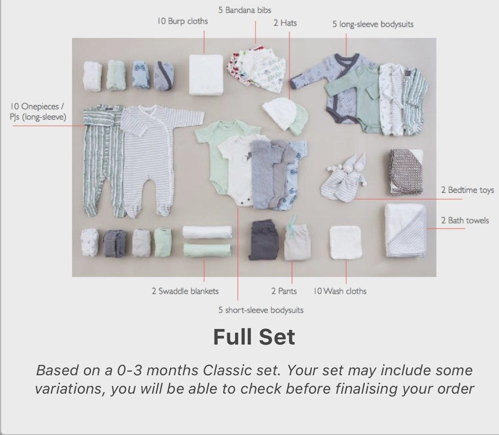 Upchoose: Full Set items