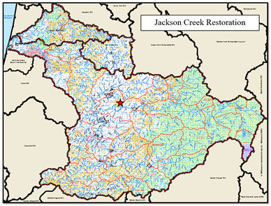 Jackson Creek Map
