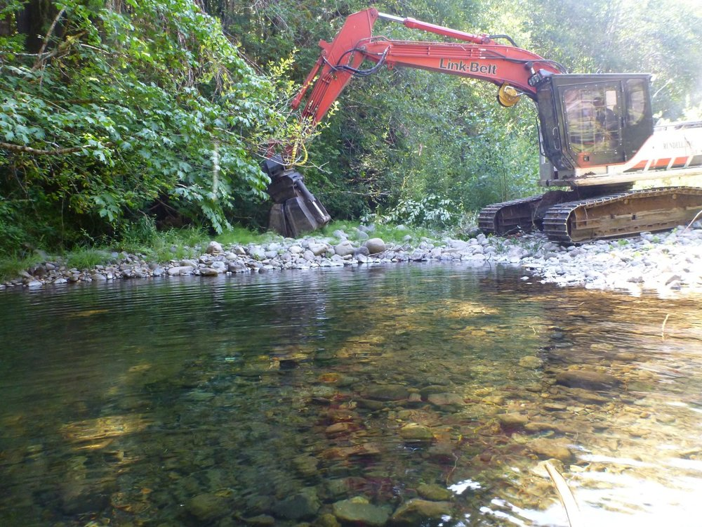 Rock Creek Side Channel Restoration