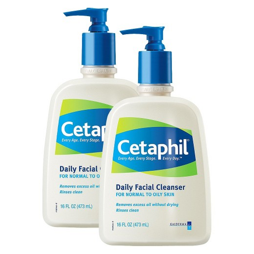 Cetaphil Daily Facial Cleanser - Just right for every skin type. I am completely in love with Cetaphil Daily Face Cleanser. It's light-weight feel cleanses your pores while allowing your skin to breathe and stay moist