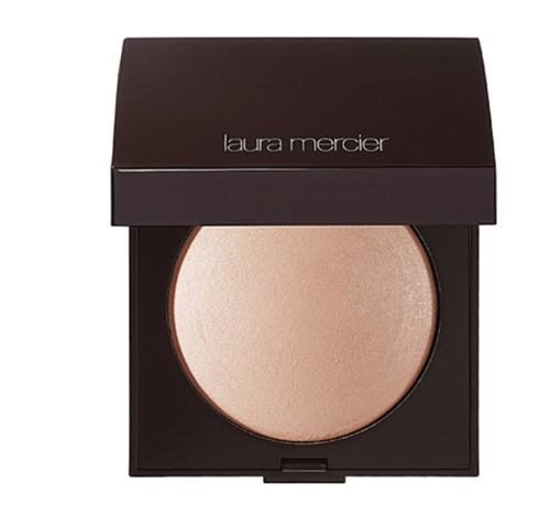 Laura Mercier Radiance Powder - Apply this shimmery highlighter with a fan brush in order for the product to go on evenly. Laura Mercier's Matte Radiance Powder gives your face that perfect, glowy finish