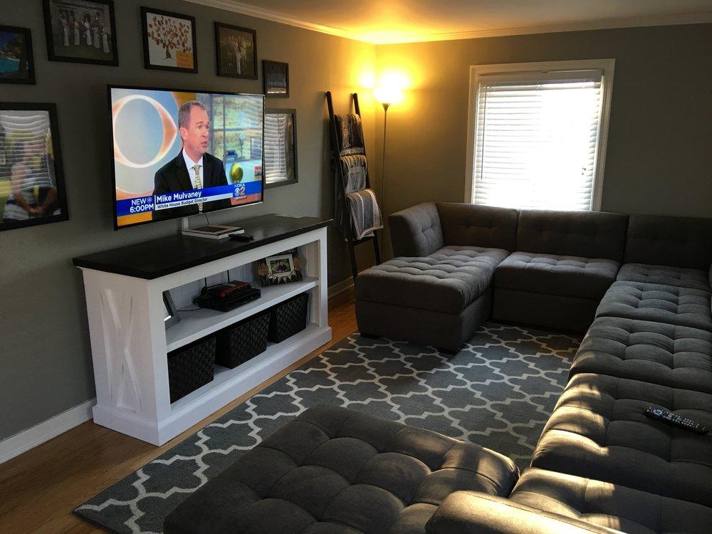 Custom Farmhouse TV Stand