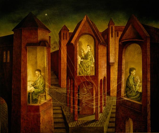 Tres destinos , Remedios Varo (1956)