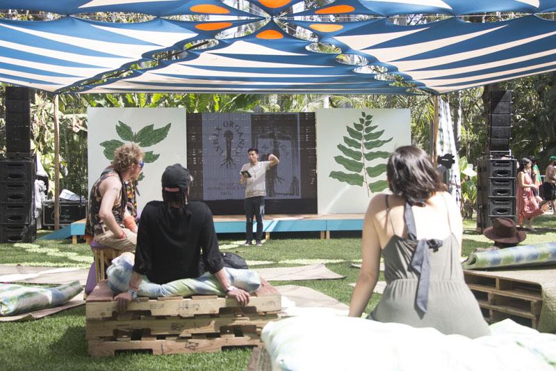 Durante el Carnaval también hubo pláticas y conferencias