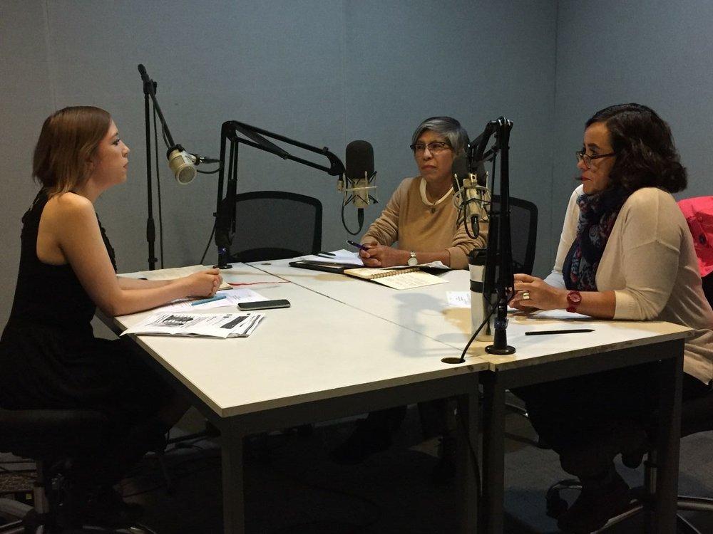 Isabel Barranco Lagunas en Radio UNAM con el tema  ¿Por qué es necesaria la perspectiva de género en los medios de comunicación? , 2017