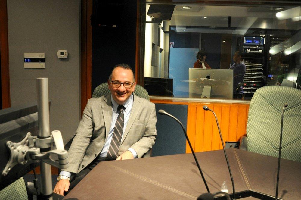 Antonio Tenorio, actual director de Radio Educación