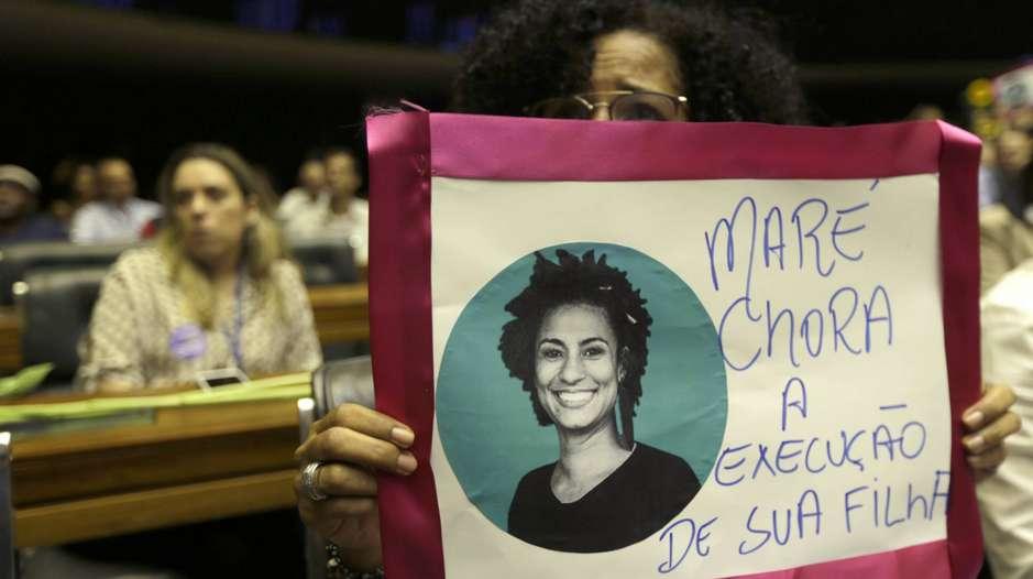 Madre de Marielle Franco via El País