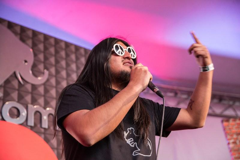 Carlos Ballarta en el Vive Latino 2017