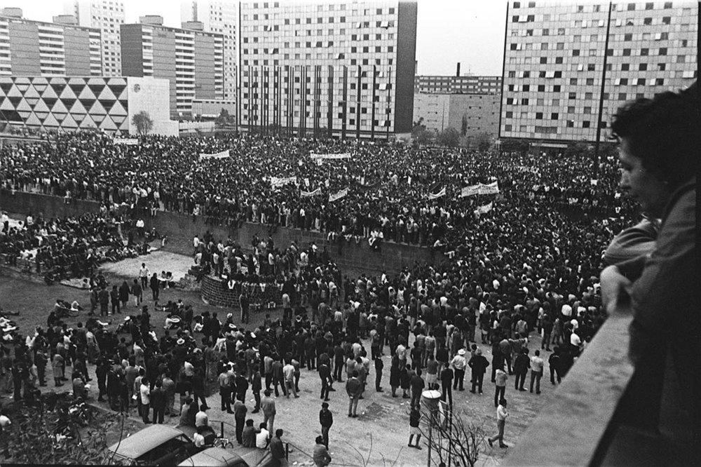 Movilizaciones estudiantiles, México 1968