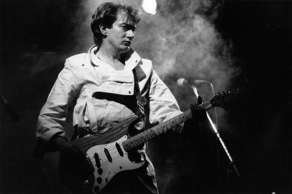 Andy Gill, guitarrista activo de Gang Of Four desde su formación
