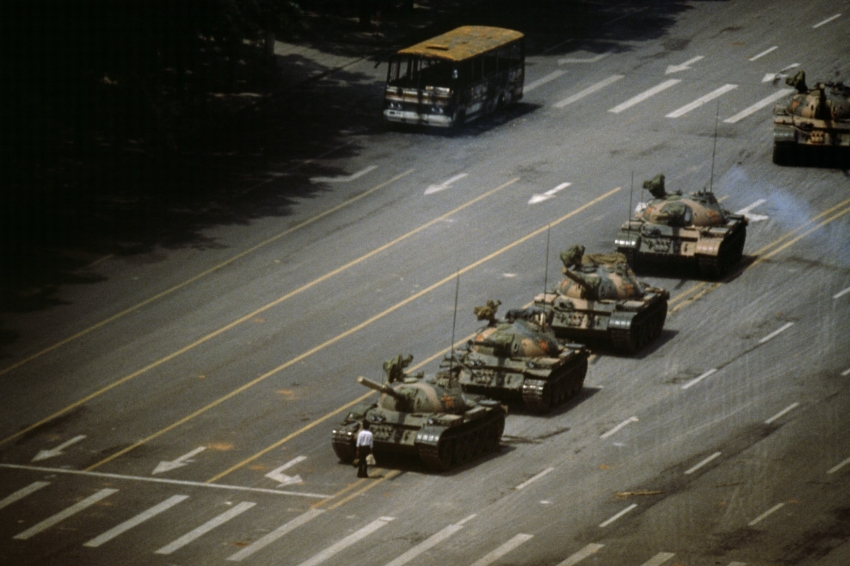 The Tank Man , Stuart Franklin, 1989.