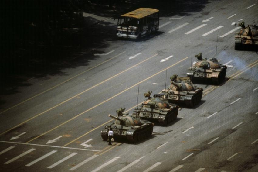 The Tank Man , Stuart Franklin, 1989.