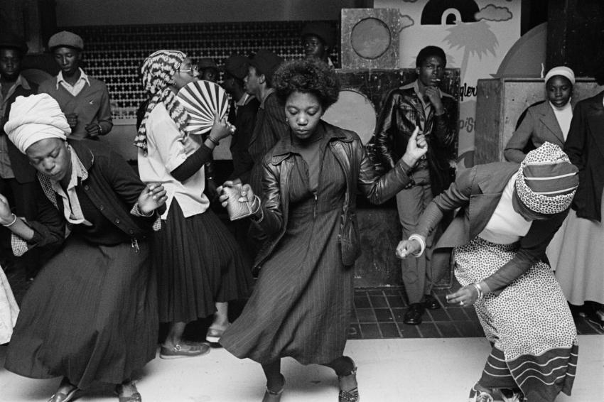 Chris Steele-Perkins, 1978.  Discoteca , Wolverhampton, Inglaterra.