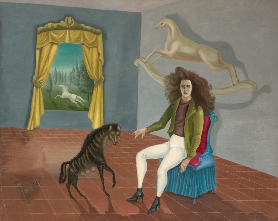 Autorretrato, 1937-1938.Leonora Carrington