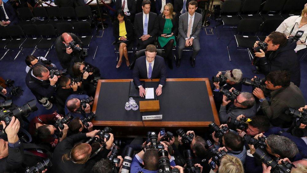 Audiencia de Mark Zuckerberg vía Quartz
