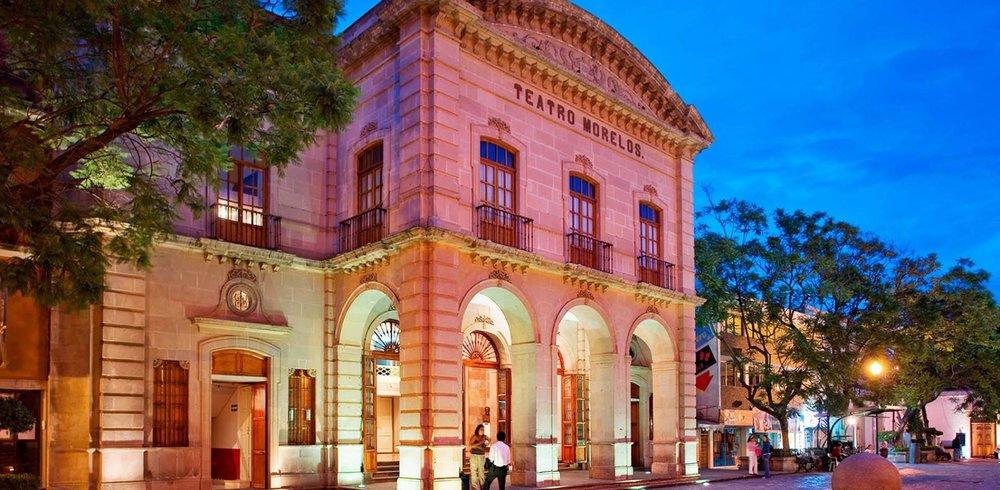 Teatro Morelos vía Visit México