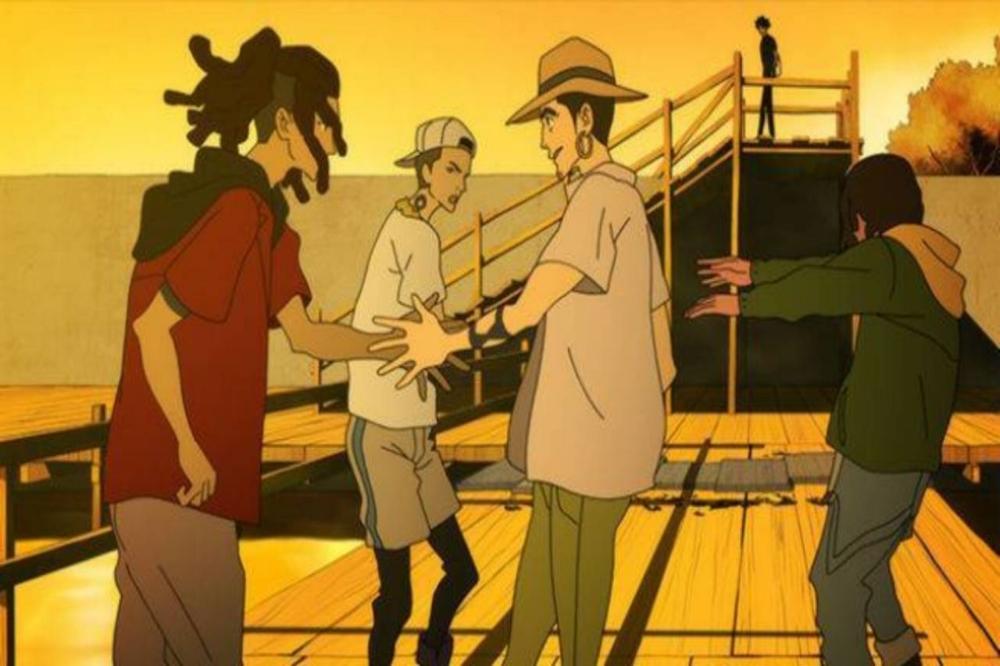 A parte de la historia y animación se puede disfrutar de un soundtrack épico que incluye a varios artistas de hip-hop japoneses como Ken 390, Young Dais o AFRA
