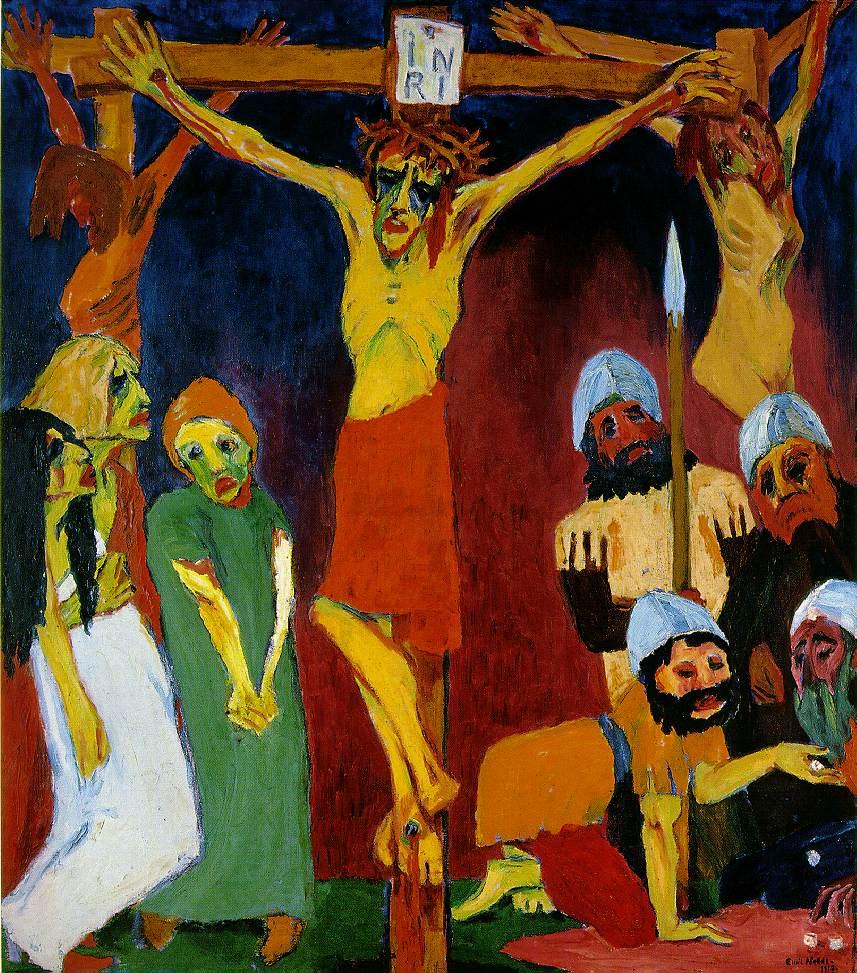 Crucifixión  Emil Nolder 1912