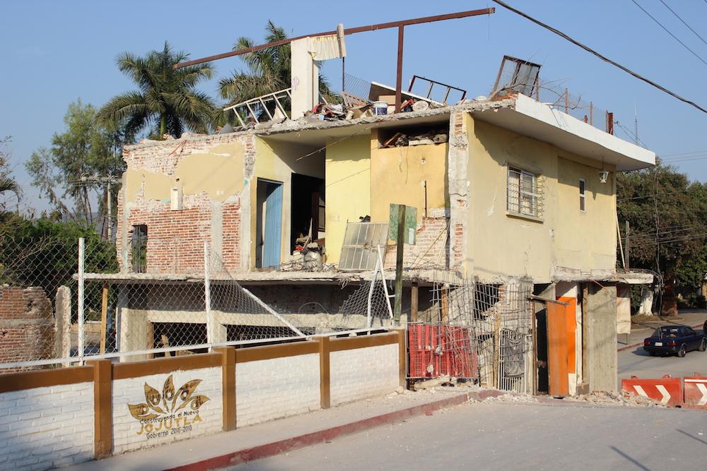 casa dañada