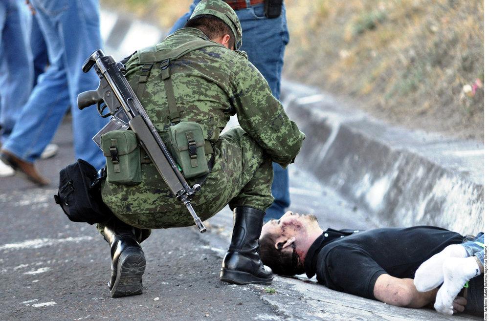 Más de 60 mil personas han muerto a causa de la guerra contra el narco.