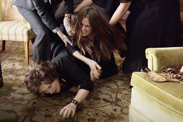 """Julia Roberts y Meryl Streep en """"August: Osage County"""""""