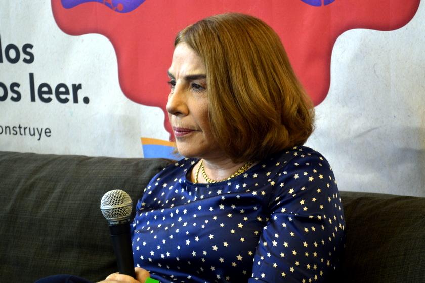 Sabina Berman en la Feria Nacional del Libro de León (FENAL) 2018