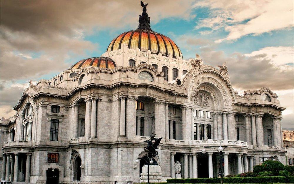 Bellas Artes.  Foto vía: Salvador Nuñez