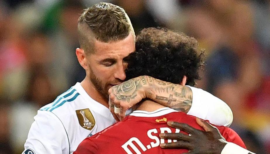 Sergio Ramos, se disculpa y lamenta haber formado parte de la lesión del egipcio.