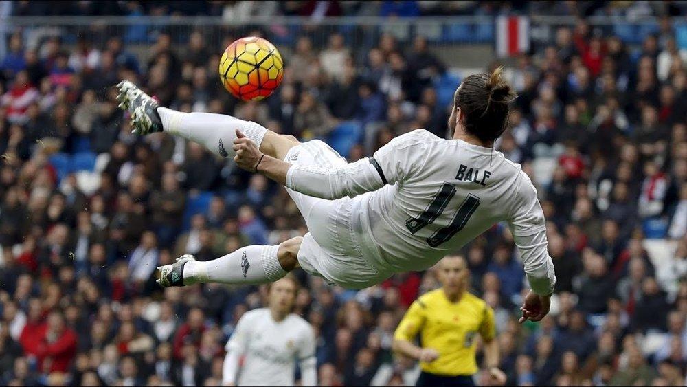 Gareth Bale con una jugada de otro mundo