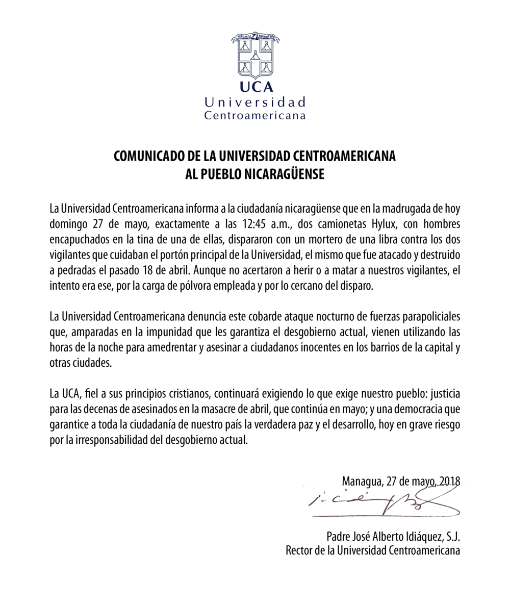 Comunicado_UCA