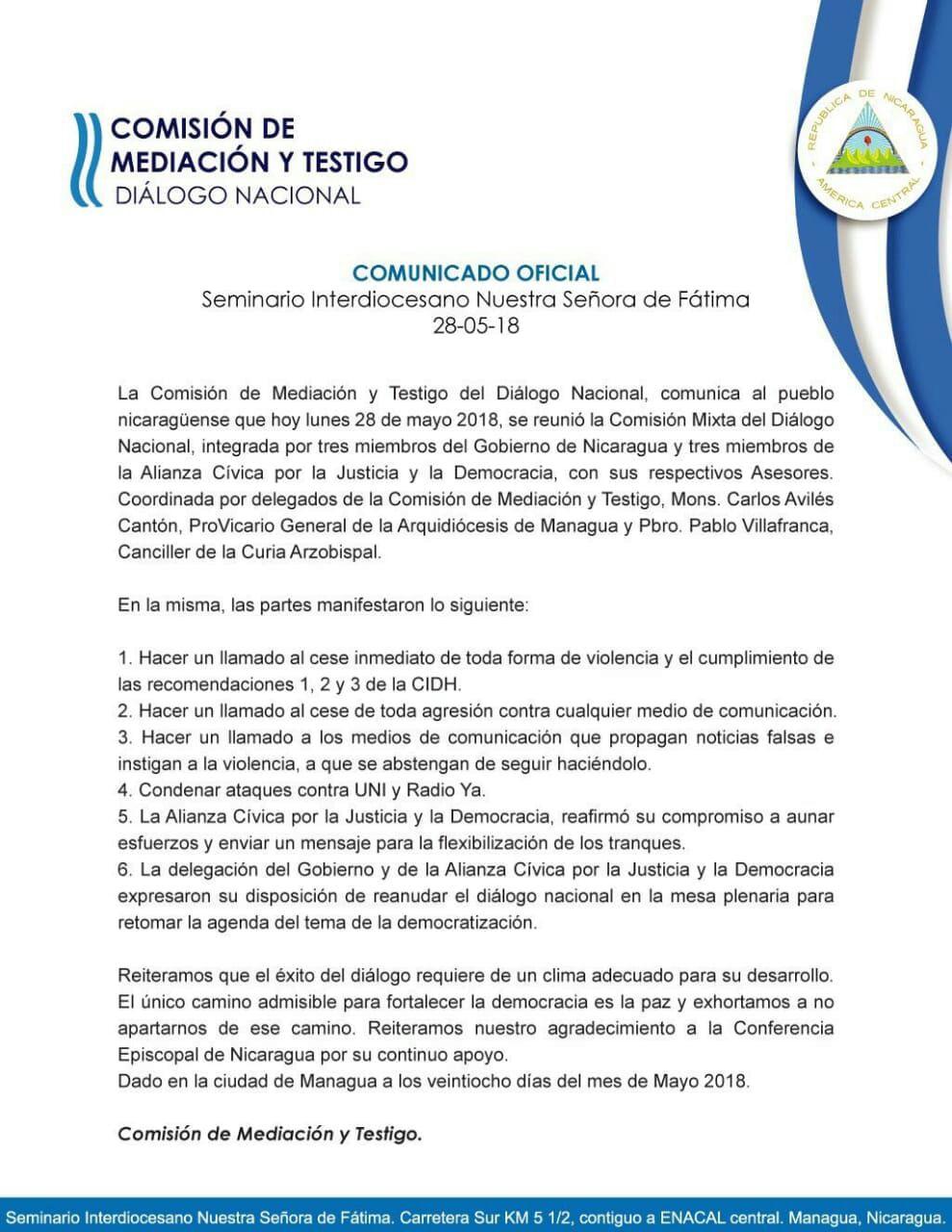 Comision_de_Mediacion_y_testigo_dialogo_nacional