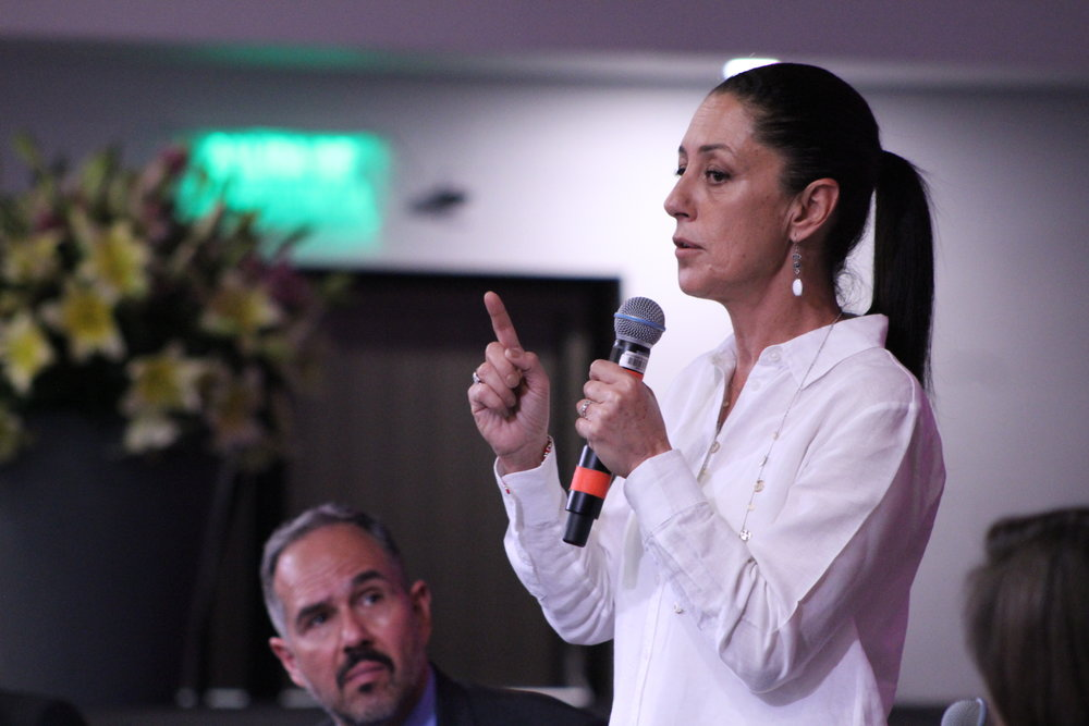Claudia Sheinbaum. Foto: Emily Ochoa
