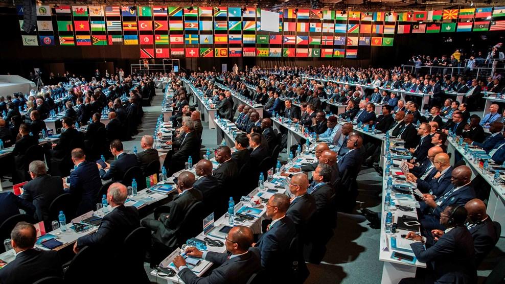 Representantes de cada nación votaron por los candidatos al mundial 2026.