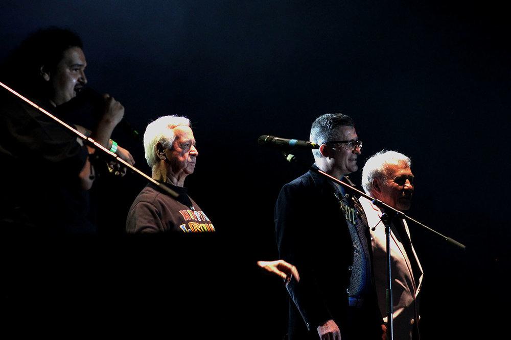 Armando Vázquez, Juanito Wau y Papi Saicos