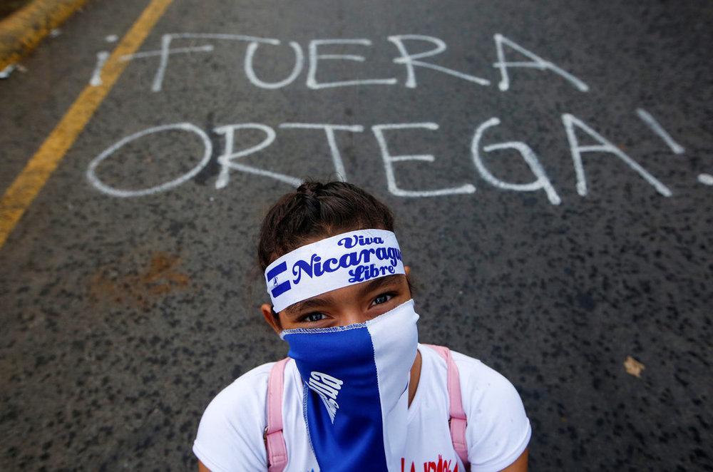 El gobierno nicaragüense siempre dijo que la calle era suya; ahora la está peleando y no parece que gane la pelea.CreditOswaldo Rivas/Reuters