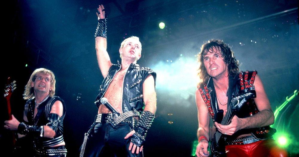 Judas Priest. Foto vía: Rolling Stone
