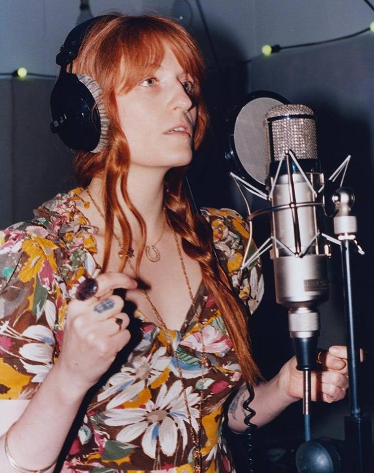 Imagen vía: Florence + The Machine FaceBook