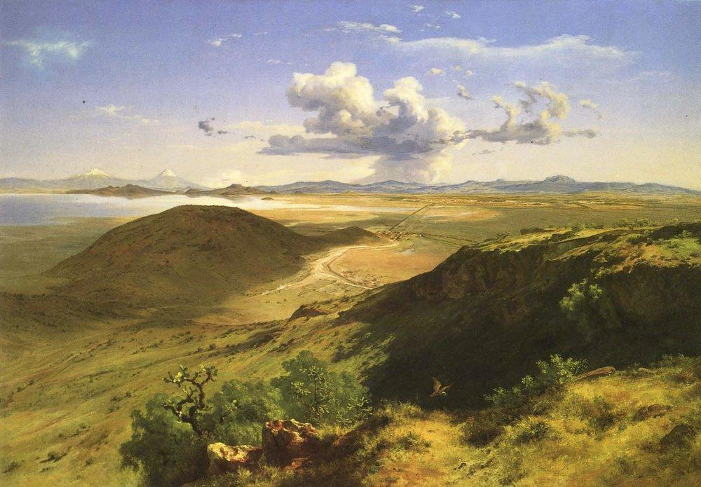 Valle de México , 1877.Colección MUNAL