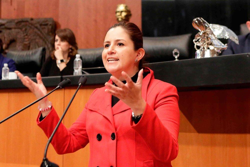 Martha Angelica Tangle Martínez vía: Senado de la República