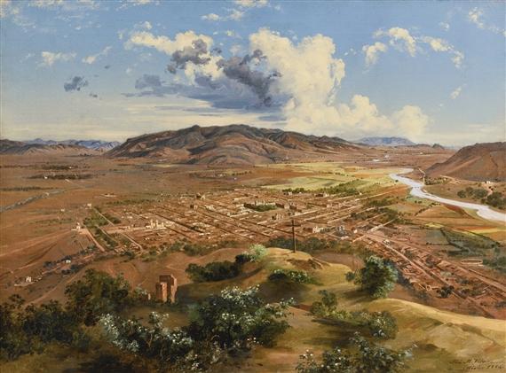El Valle de Oaxaca , 1894. Foto vía: Google