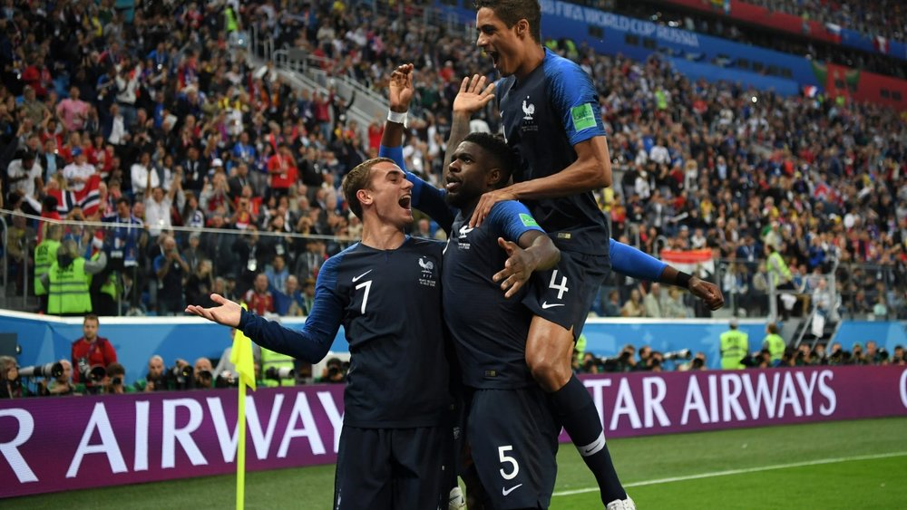 Francia croácia final