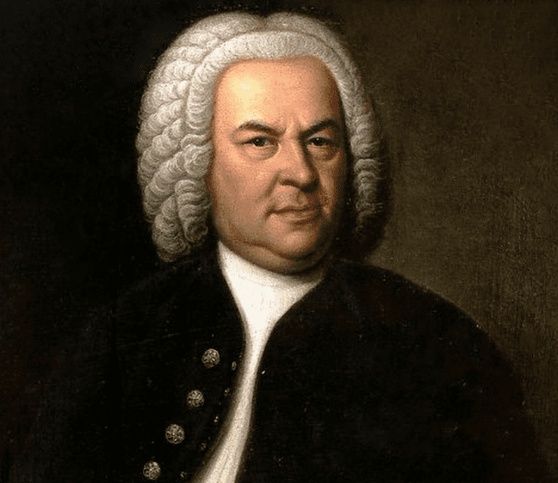Johann Sebastian Bach. Foto vía: Google